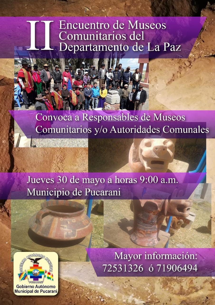II Encuentro de Museos Comunitarios del Departamento de La Paz