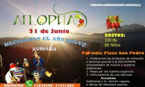 Lee más sobre el artículo AFLOPHA: recibiendo el ano nuevo Aymara (21 de junio)