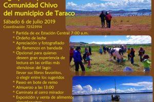 Agropaseo peninsular, Comunidad Chivo del municipio de Taraco – 6 de Julio