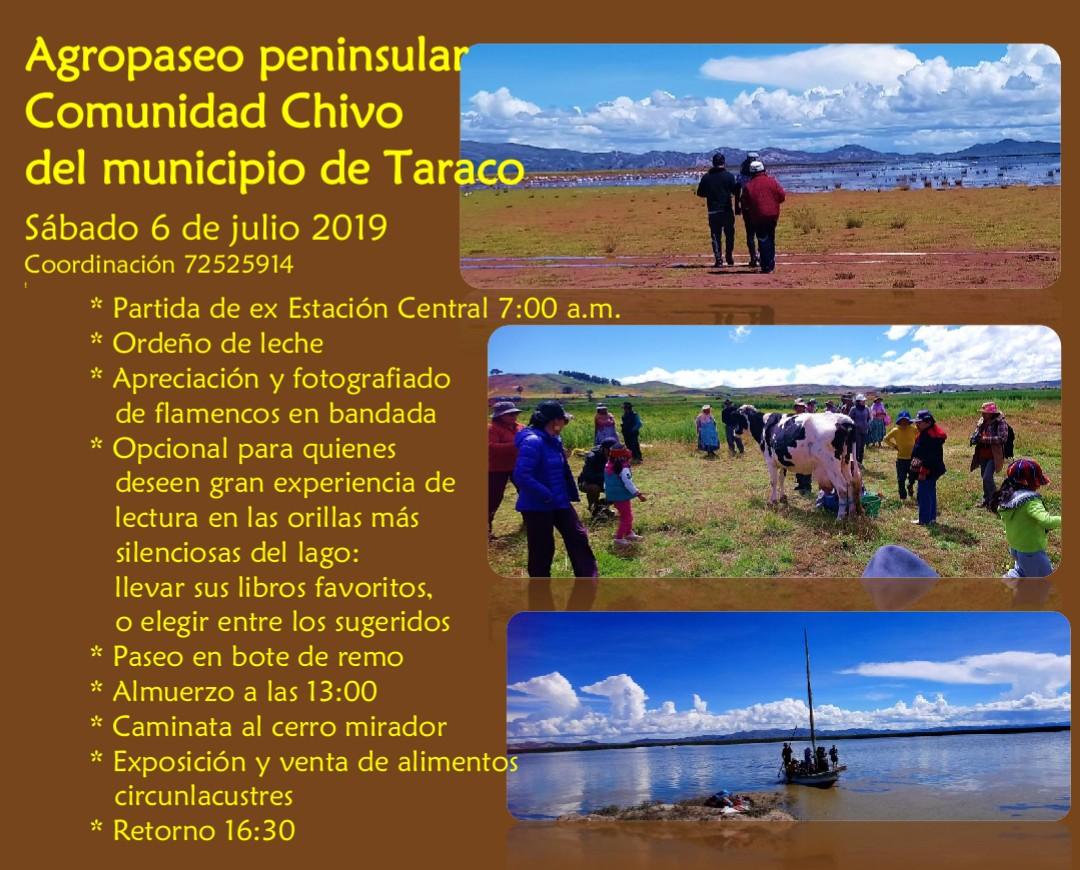 Lee más sobre el artículo Agropaseo peninsular, Comunidad Chivo del municipio de Taraco – 6 de Julio