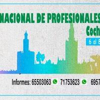 Invitación al IV Congreso Nacional de Profesionales en Turismo, Cochabamba 2019