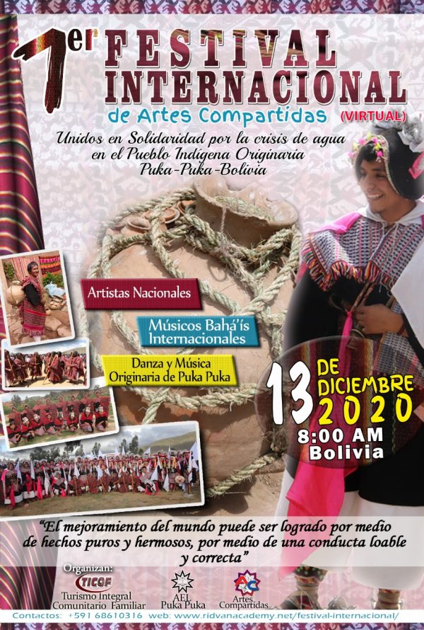 1er. Festival Virtual Internacional de Artes Compartidas